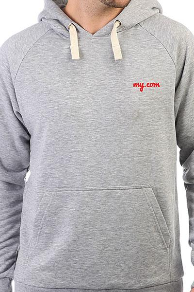 Толстовка Wearcraft Premium My.com Logo Серый Меланж