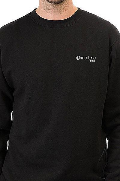 Свитшот Mail.ru Logo Черный