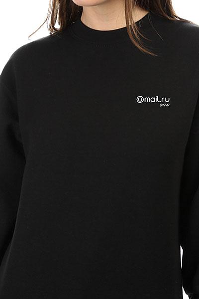 Свитшот Женский Mail.ru Logo Черный