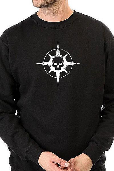 Свитшот Warface Skull Черный