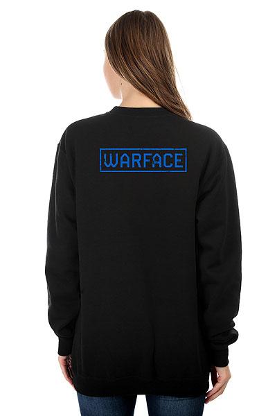 Свитшот женский Warface Wings Черный