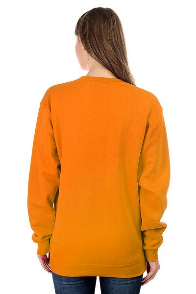 Свитшот женский Одноклассники Logo Оранжевый