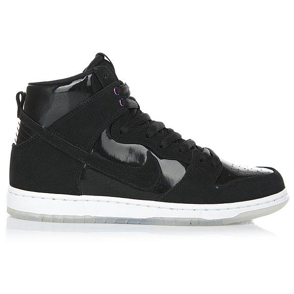 Кеды высокие Nike Sb Zoom Dunk High Pro Black