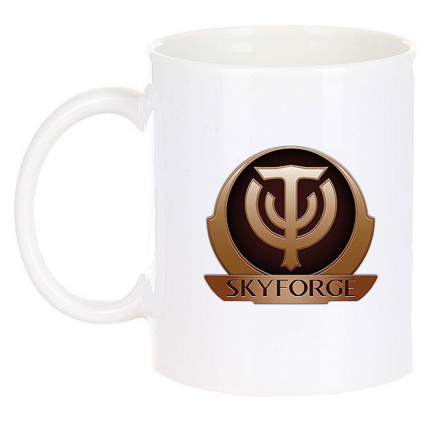 Кружка Skyforge Logo Белая
