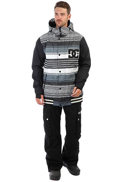 Куртка утепленная DC Dcla Jkt Poncho Stripe Gs