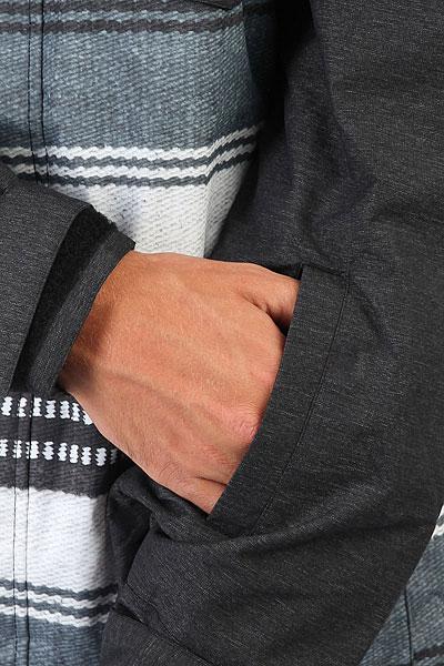 Куртка утепленная DC Merchant Poncho Stripe Gs