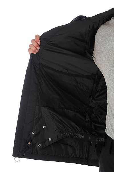 Куртка утепленная DC Servо Black