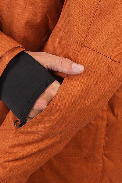 Куртка утепленная DC Servo Leather Brown