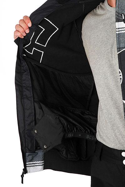 Куртка утепленная DC Spectrum Poncho Stripe Gs