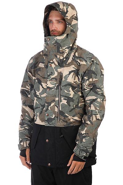 Куртка утепленная DC Outlier British Woodland Cam