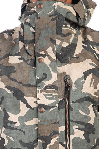 Куртка DC Outlier British Woodland Cam