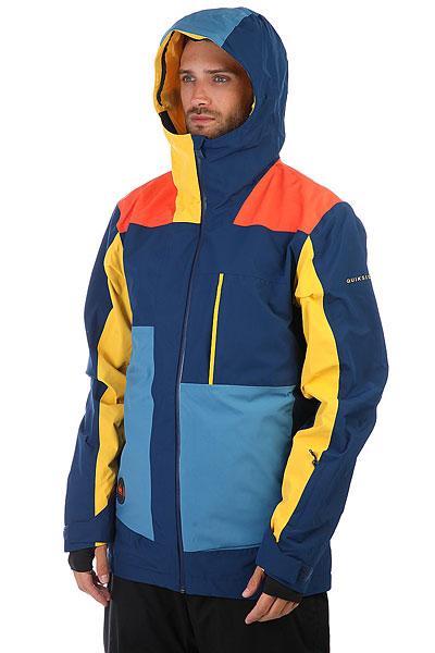 Куртка утепленная Quiksilver Sycamore Vallarta Blue