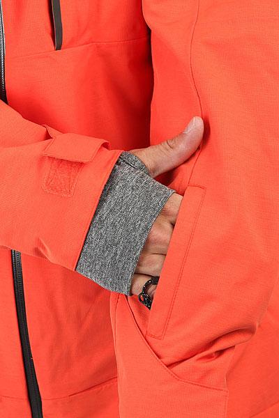 Куртка утепленная Quiksilver Sycamore Mandarin Red