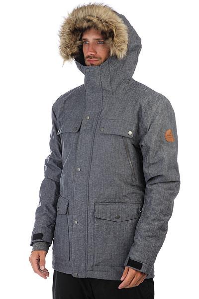Куртка утепленная Quiksilver Selector Estate Blue