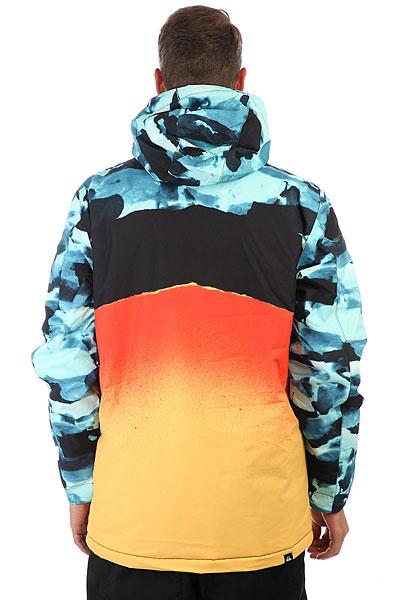 Куртка утепленная Quiksilver Miss Eng Pr Vallarta Blue Crypt