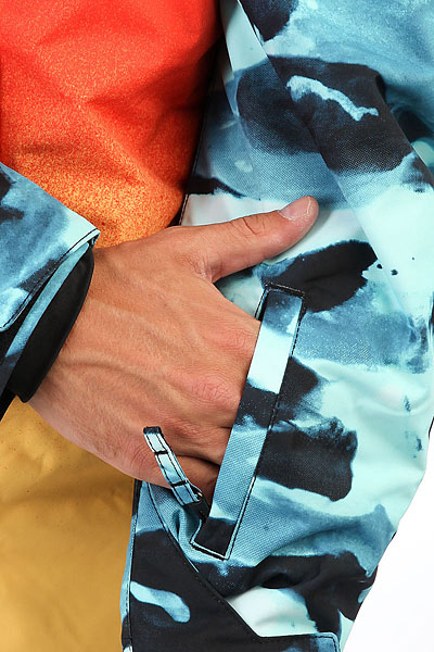 Куртка Quiksilver Miss Eng Pr Vallarta Blue Crypt