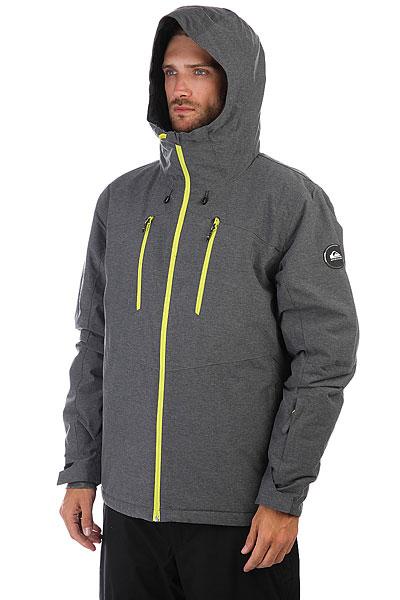 Куртка утепленная Quiksilver Mission Plus Black