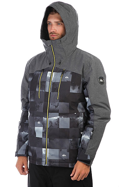 Куртка утепленная Quiksilver Mission Plus Bw Icey Check
