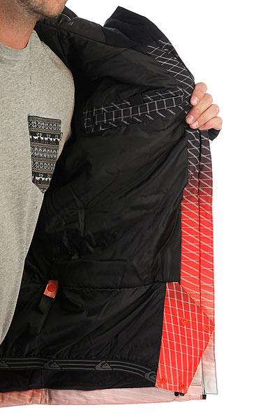 Куртка утепленная Quiksilver Gravity Mandarin Tech Fade