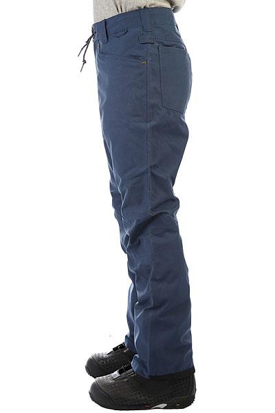 Штаны сноубордические DC Relay Waxed Insignia Blue