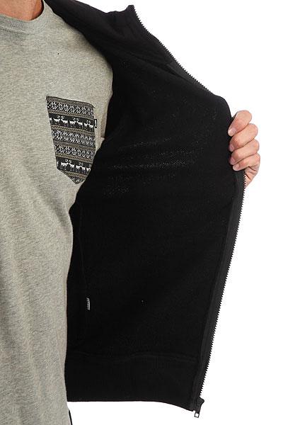 Толстовка классическая Anteater Zip Hoodie Bcats Black