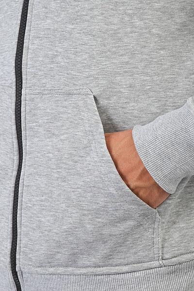 Толстовка классическая Anteater Zip Hoodie Bcats Grey