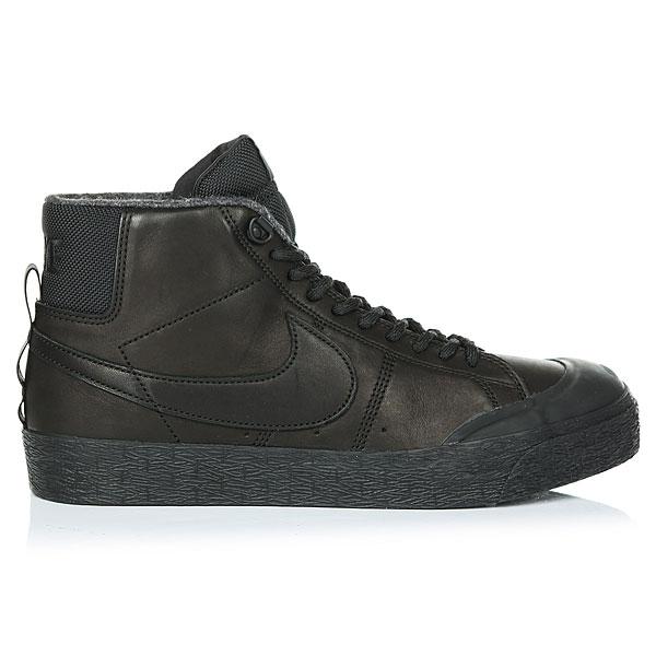 Ботинки высокие Nike SB Blazer Zoom M Xt Bota Black