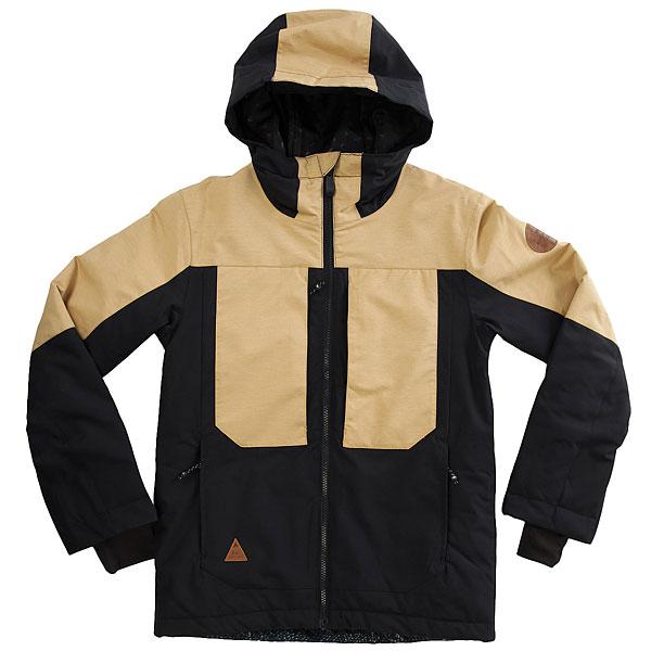 Куртка детская Quiksilver Tr Ambit You Mustard Gold