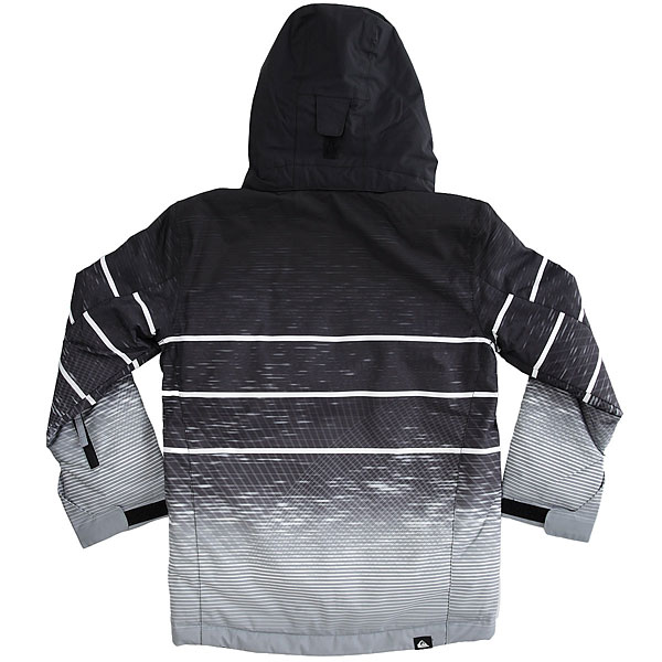Куртка утепленная детская Quiksilver Missio En Yo Black Blur Lights