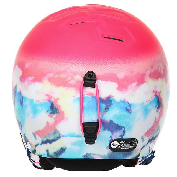 Шлем для сноуборда женский Roxy Avery Neon Grapefruit clou