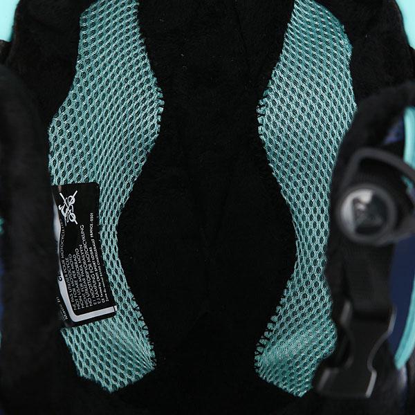 Шлем для сноуборда женский Roxy Power Powder Aruba Blue kaleidos