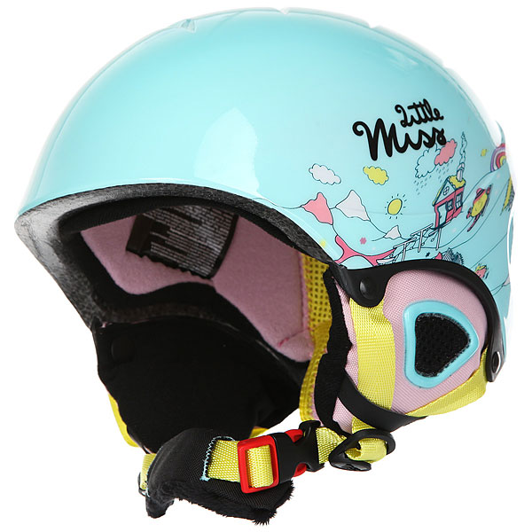 Шлем для сноуборда детский Roxy Misty Aruba Blue little Mi