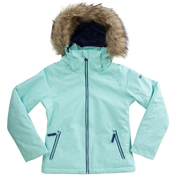 Куртка утепленная детская Roxy Jet Ski So Girl G Snjt Blue_gana Embo