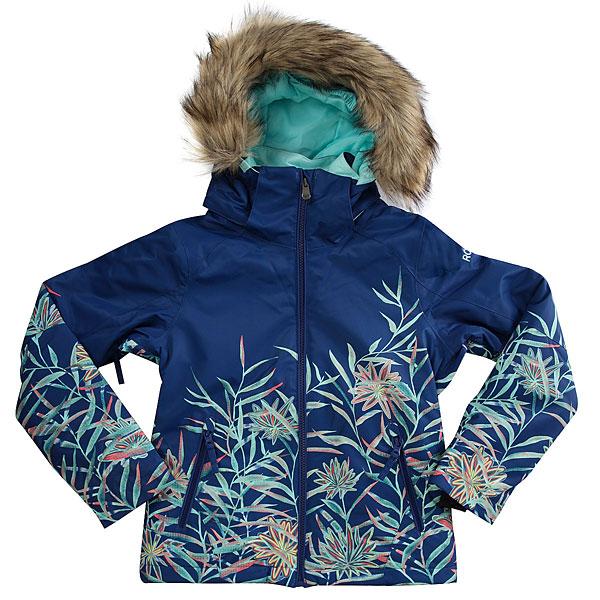 Купить Куртка утепленная детская Roxy Jet Ski Se Girl G Snjt Sodalite Blue_garden 1187420
