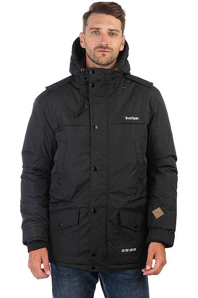 Куртка парка TrueSpin Fishtail Black