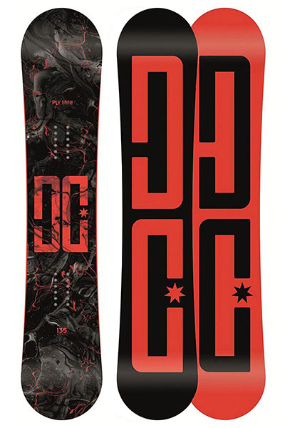 Сноуборд DC Женский Ply Mini B Snbd Mul Multi