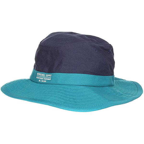 Шляпа Herschel Creek Navy/Deep Aqua