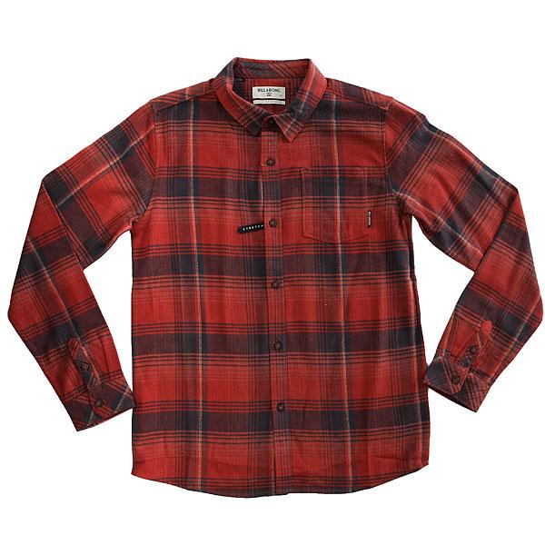 Рубашка в клетку детская Billabong Coastline Flannel Red