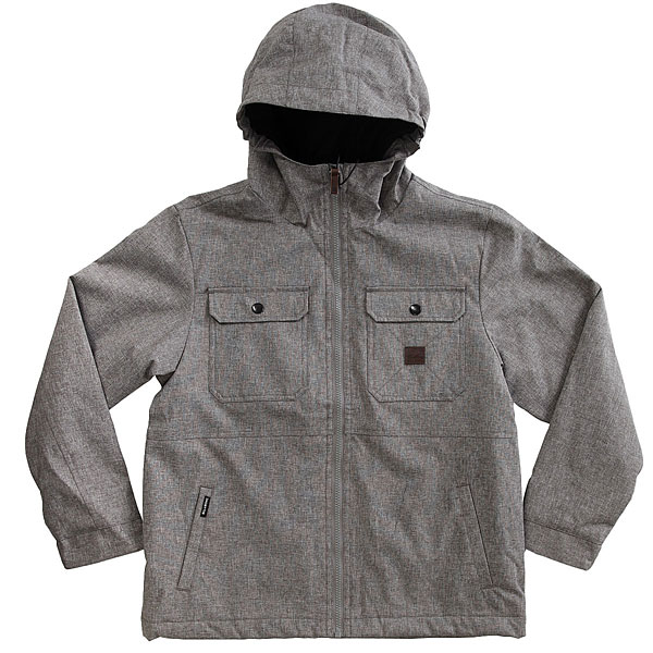 Куртка детская Billabong Matt Boy Grey Heather