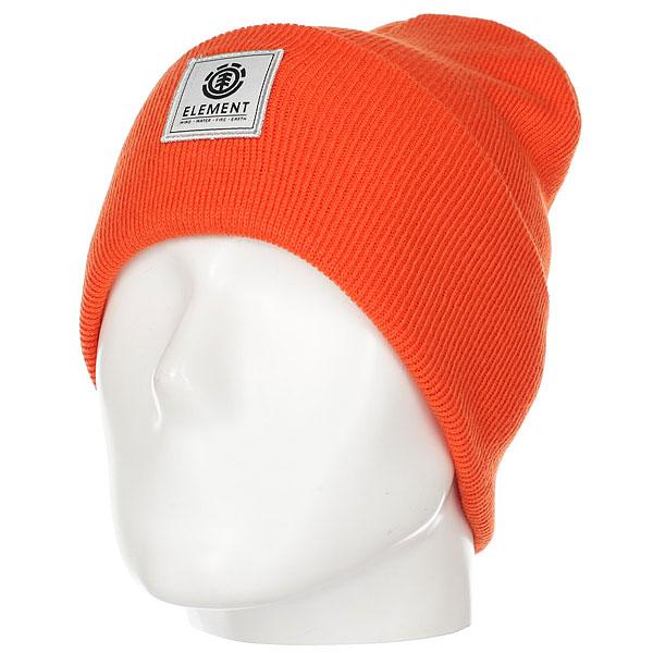 Шапка Element Dusk Beanie Hazard Orange