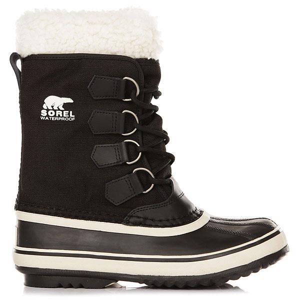Ботинки зимние женские Sorel Winter Carnival Black Stone