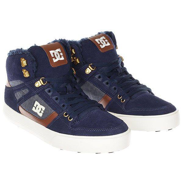 Кеды зимние DC Shoes Spartan Hi Wnt Navy