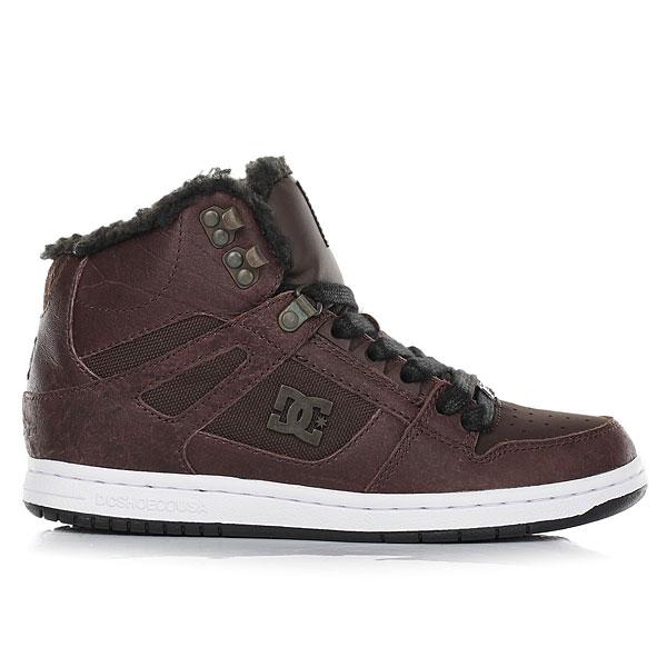 Кеды зимние женские DC Shoes Rebound Hi Wnt Brown/Chocolate