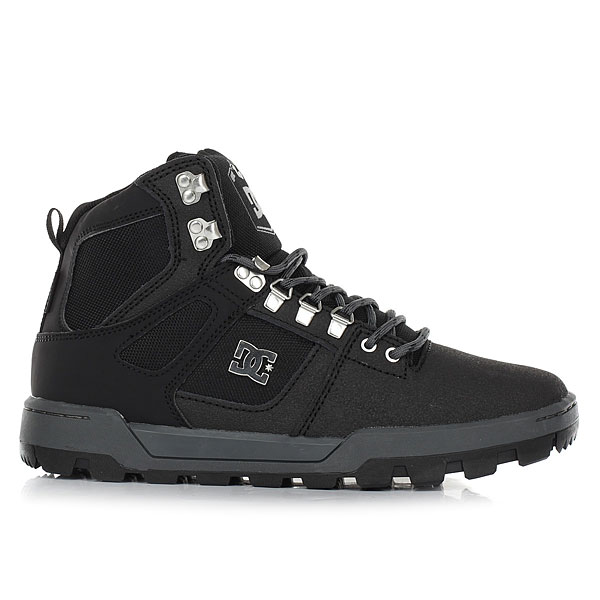Ботинки высокие DC Shoes Spartan High Wr Black/Black/Dk Grey