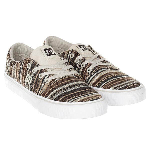 Кеды низкие женские DC Shoes Trase Tx Le Tan/Brown