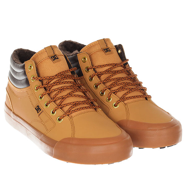 Кеды зимние DC Shoes Evan Hi Wnt Wheat