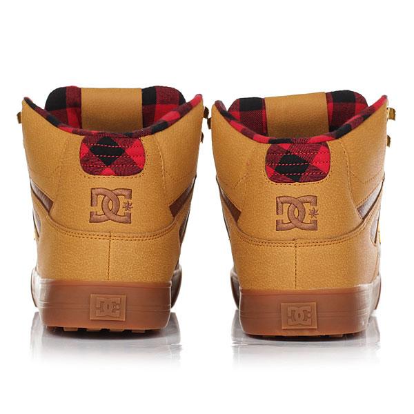 Кеды высокие DC Shoes Spartan Hi Wnt Wheat/Black/Dk Choco