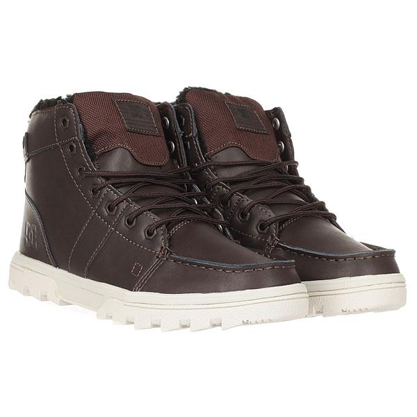Ботинки зимние DC Woodland Brown/Tan