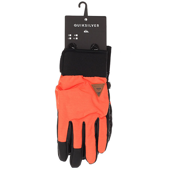 Перчатки Quiksilver Method Glove Mandarin Red