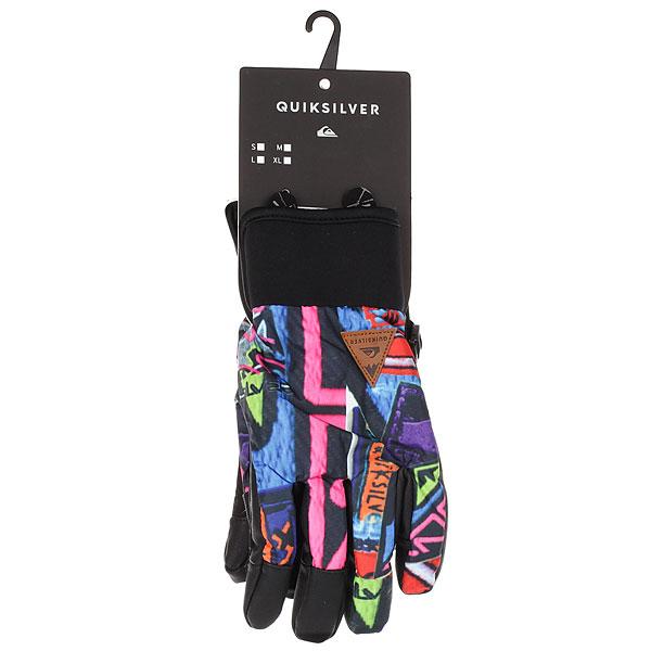 Перчатки детские Quiksilver Method Youth Quiky Print Gloves